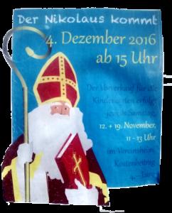 Der Nikolaus kommt!!!